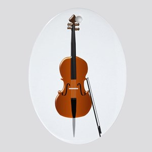 Cello Ornament (Oval)